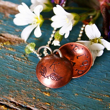 Copper Mother's Locket