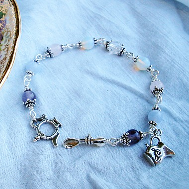Invitation to Tea Bracelet for Grieving and Mourning