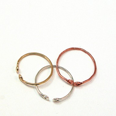 Knuckle Ring Mixed Metals Spanno Set
