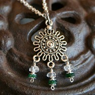 Mandala Fertility Pendant Necklace