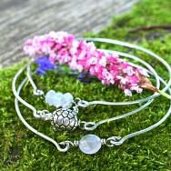 Stackable Fertility Bracelet Bangles